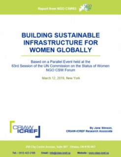 Building Sustainable Infrastructure for Women Globally