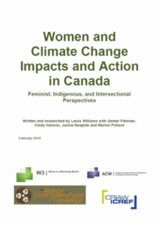 Women and Climate Change: Impacts and Action in Canada