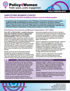Amplifying Women's Voices