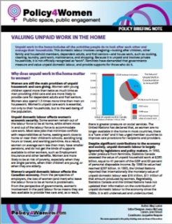 Valuing Unpaid Work in the Home