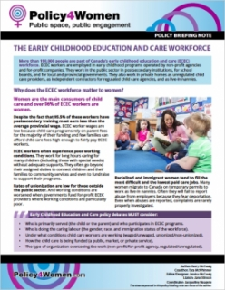 The Early Childhood Education and Care Workforce