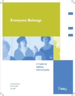Everyone Belongs: A Toolkit for Applying Intersectionality