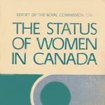 "Policy4Women releases ""Gender Equality & The RCSW"" on 37th anniversary of RCSW report (anglais)"
