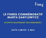 Le Fonds commémoratif Marta Danylewycz accepte maintenant des demandes !