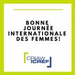 Bonne Journée internationale des femmes !