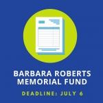 Barbara Roberts Memorial Fund