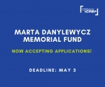 The Marta Danylewycz Memorial Fund is now accepting applications!